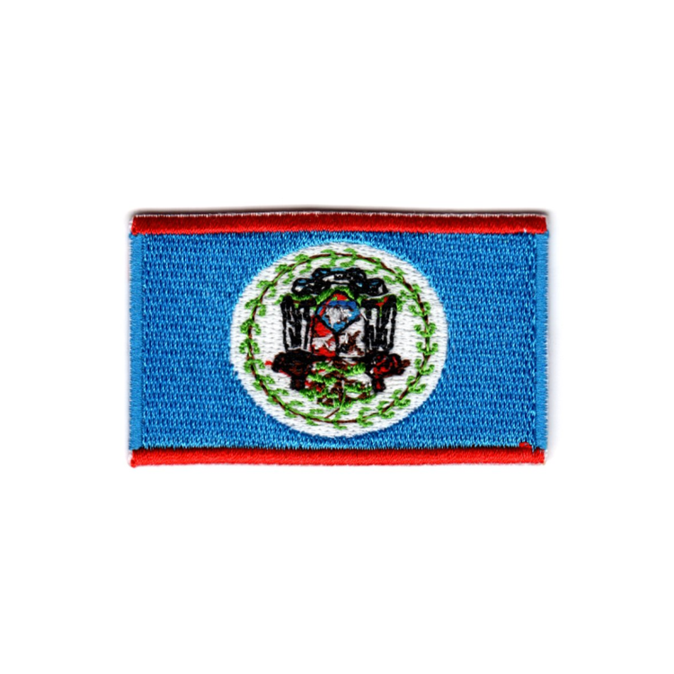 Flagga Belize