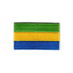 Flagga Gabon
