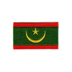 Flagga Mauretanien
