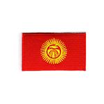Flagga Kirgizistan