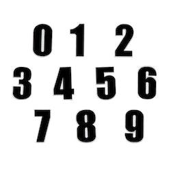 Siffror / Nummer (0-9) [Large]