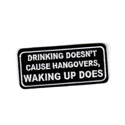 Drinking doesn't cause hangovers