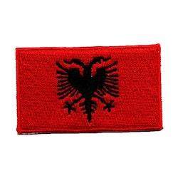 Flagga Albanien