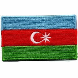 Flagga Azerbajdzjan