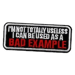I can be used as a bad example