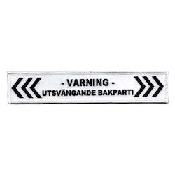 Varning - Utsvängande Bakparti (XL)