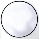 Tomt ryggmärke 20cm - Enkel (cirkel)