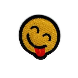 Glad med tunga - Emoji