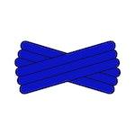 Spegatt (Royal Blue - Royal Blue - Royal Blue)