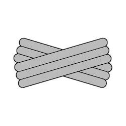 Spegatt (Silver - Silver - Silver)