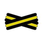Spegatt (Black - Yellow - Black)