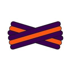 Spegatt (Purple - Orange - Purple)
