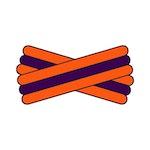 Spegatt (Orange - Purple - Orange)
