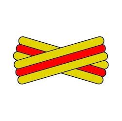 Spegatt (Yellow - Red - Yellow)