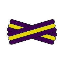 Spegatt (Purple - Yellow - Purple)