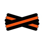Spegatt (Black - Orange - Black)