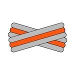 Spegatt (Silver - Orange - Silver)