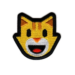 Glad katt - Emoji