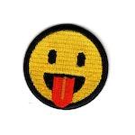 Utsträckt Tunga - Emoji