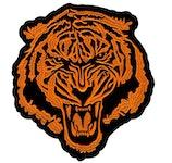 Tiger Ryggmärke (XXXL)