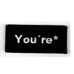 You're*