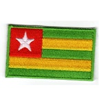 Flagga Togo