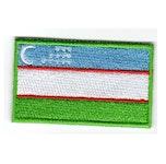 Flagga Uzbekistan