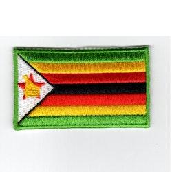 Flagga Zimbabwe
