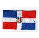 Flagga Dominikanska republiken