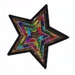 Stjärna i paljetter (XL)