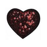 Hjärta i paljetter