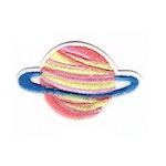Planet - Rosa/Gul