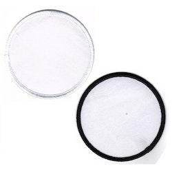 Tomt tygmärke / Laglapp iron-on (cirkel)