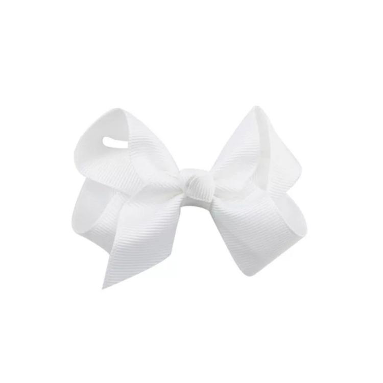 Hårrosett Zelda, vit, 2-pack