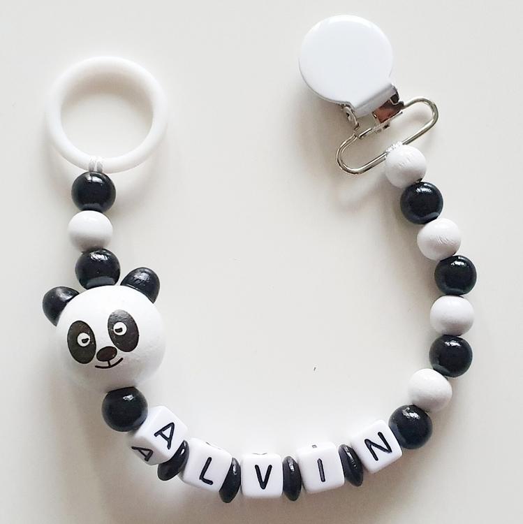 Napphållare, panda