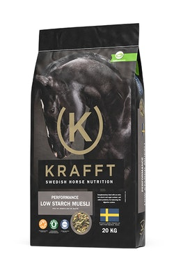 Krafft Performance low starch müsli