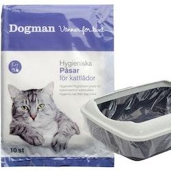 Hygieniska Påsar för kattlådor