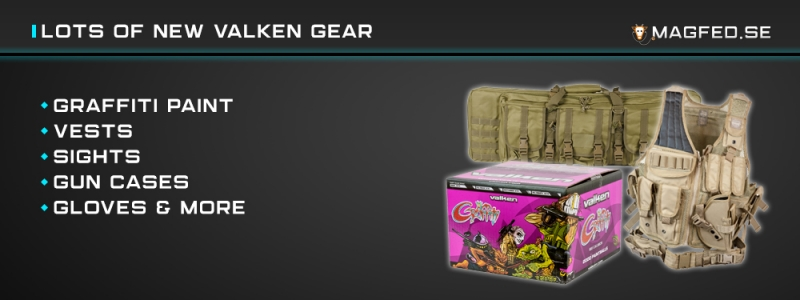 [2019-04-16] New gear from Valken available!