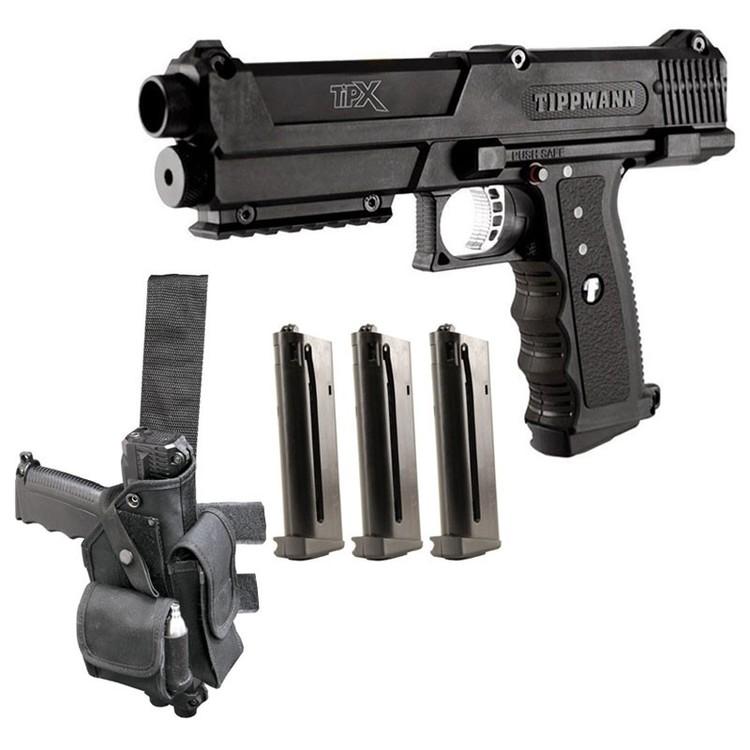 [Tippmann] TiPX Pistol - Deluxe Kit