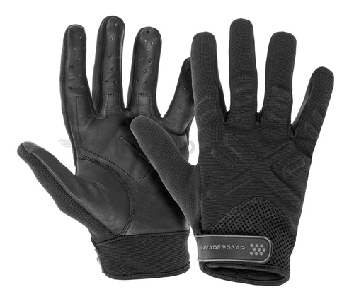 [Invader Gear] Shooting Gloves - Black