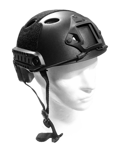 [Emerson] Fast Helmet PJ - Eco Version - Black