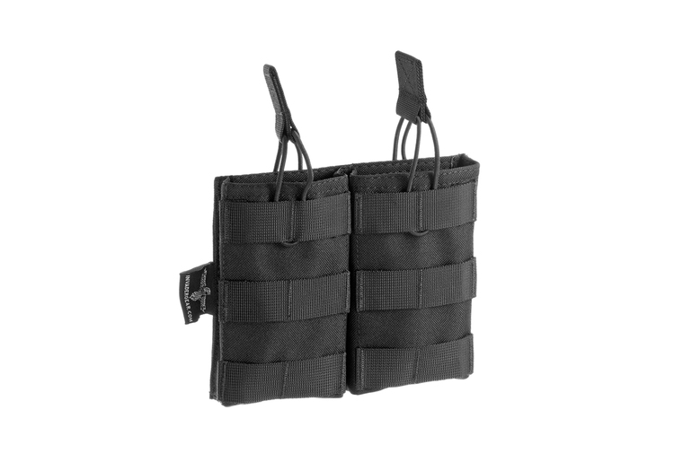 [Invader Gear] 5.56 Double Direct Action Mag Pouch - Black