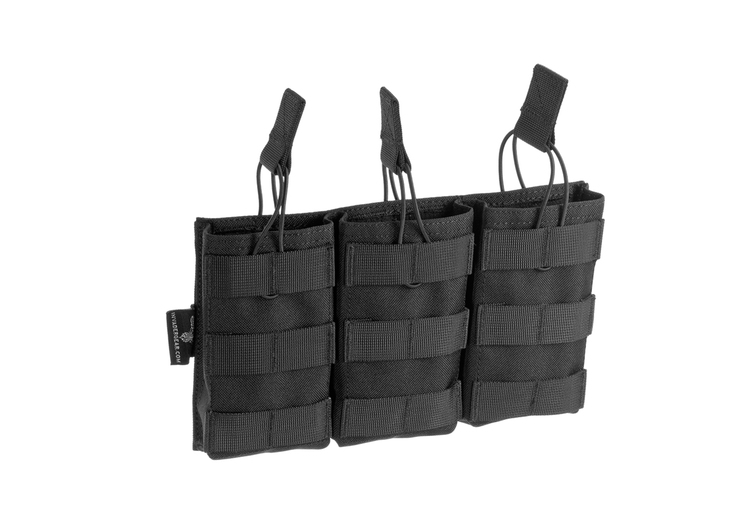 [Invader Gear] 5.56 Triple Direct Action Mag Pouch - Black