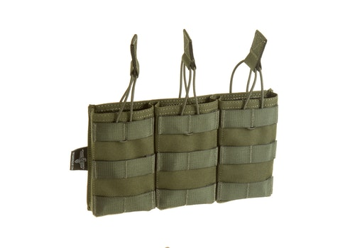 [Invader Gear] 5.56 Triple Direct Action Mag Pouch - OD