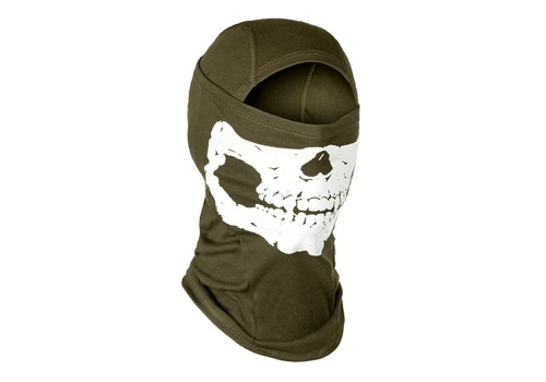 [Invader Gear] Death Head Balaclava - OD