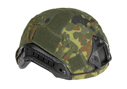 [Invader Gear] FAST Helmet Cover - Flecktarn