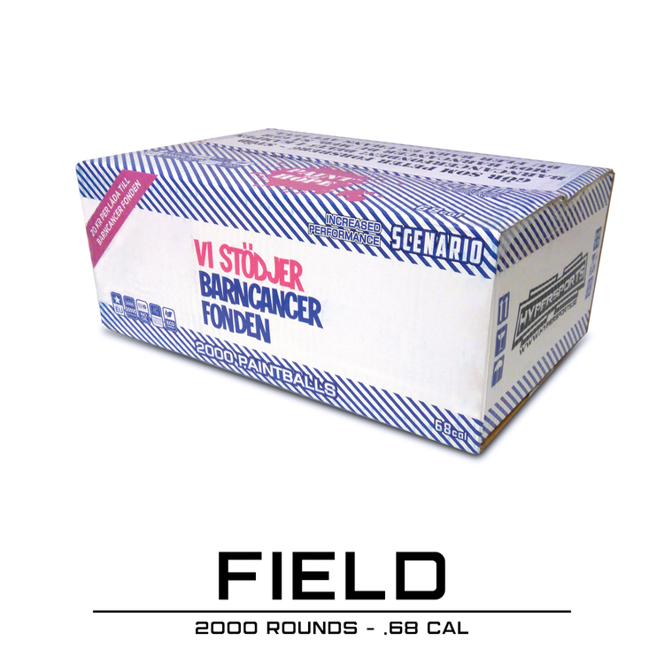 [Hypersports] BCF Field Paintballs - 2000 rounds