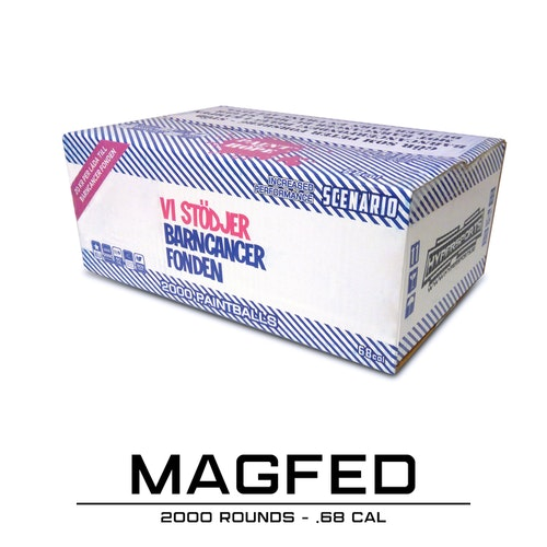 [Hypersports] BCF Magfed Paintballs - 2000 rounds