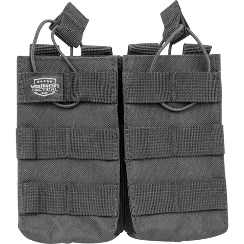 [Valken] V-Tactical Mag Pouch AR Double - Black