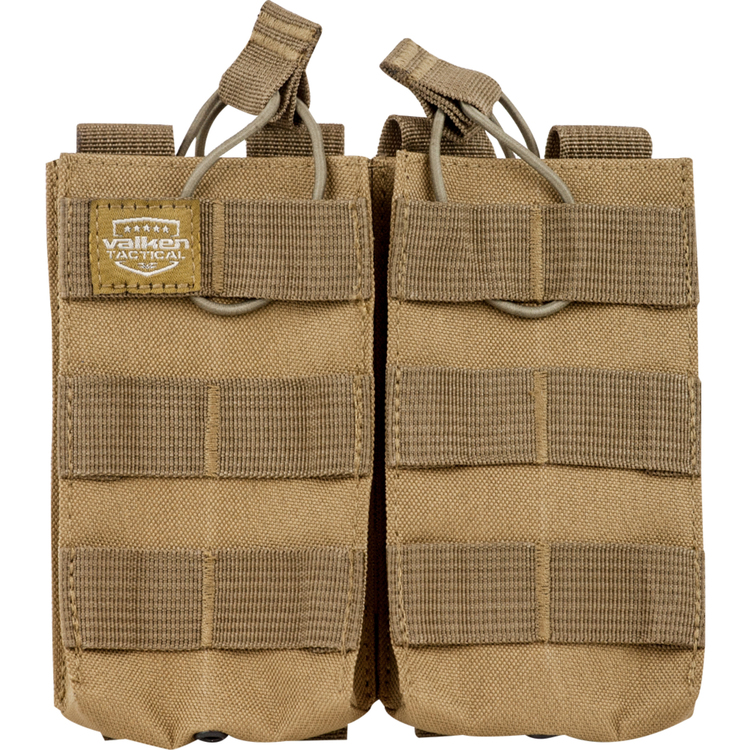 [Valken] V-Tactical Mag Pouch AR Double - Tan
